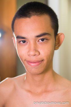 Skinny Asian Twink Jame portrait