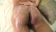 Dom's Asian twink ass creamed